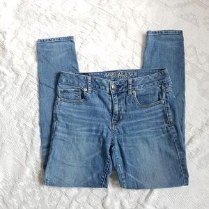 American Eagle Hi-Rise Skinny Jeans